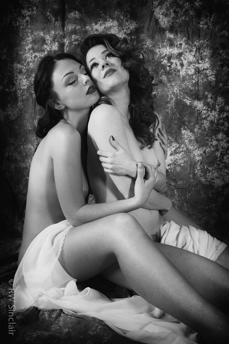 Photograph Anastasia & Rebecca by Monochrome Effect on 500px