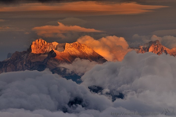 Photograph Sunset on the Obiou by Matthieu Rieux on 500px