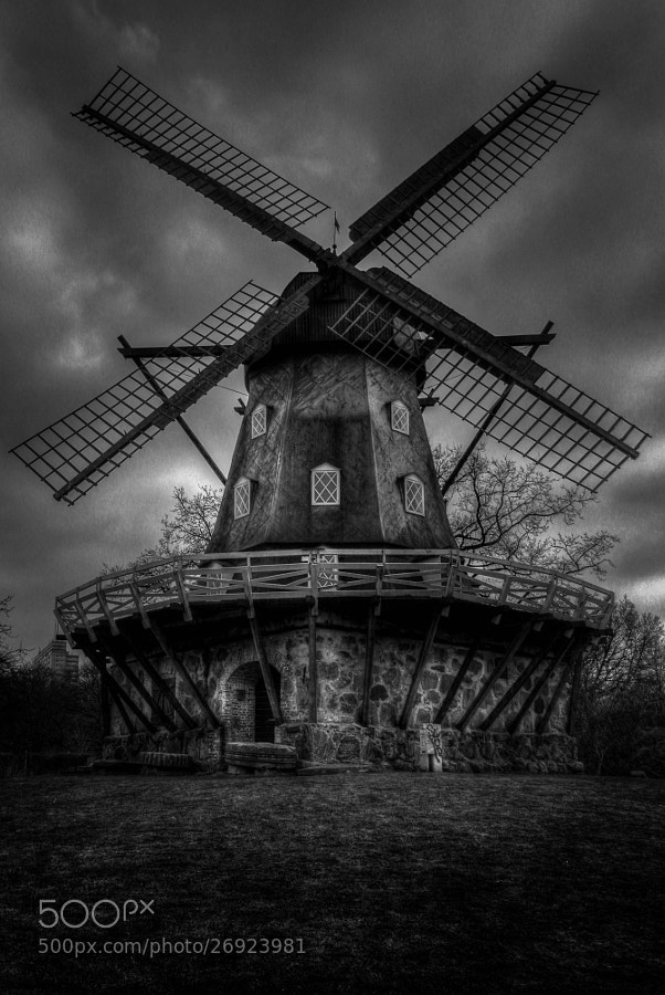 Photograph Windmill by Mirza Buljusmic on 500px
