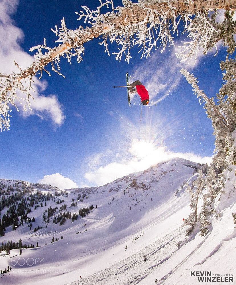 Photograph Airtime - Backflip at Alta Ski Resort by KevinWinzeler.com  ~ sports, lifestyle on 500px