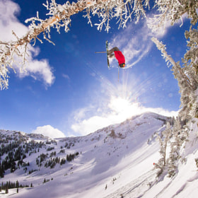 Airtime - Backflip at Alta Ski Resort by KevinWinzeler.com  ~ sports, lifestyle (kwinzeler)) on 500px.com