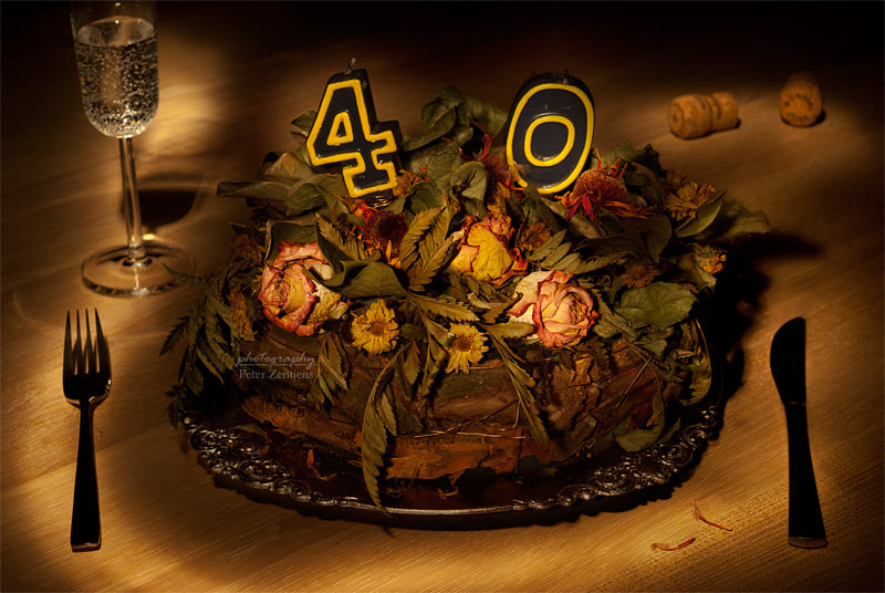 Photograph Birthday cake nr 40 by Peter Zentjens on 500px
