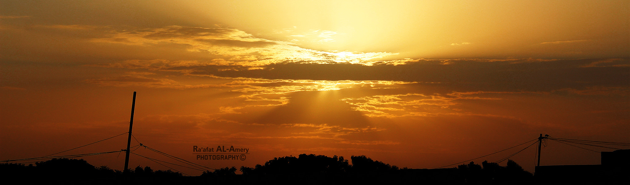 Photograph Panoramic sunset by Ra'afat Al-Amery on 500px
