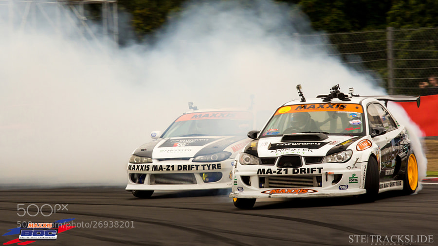 Steve Baggsy Biagioni VS Paul Smokey Smith @ BDC Silverstone 2012