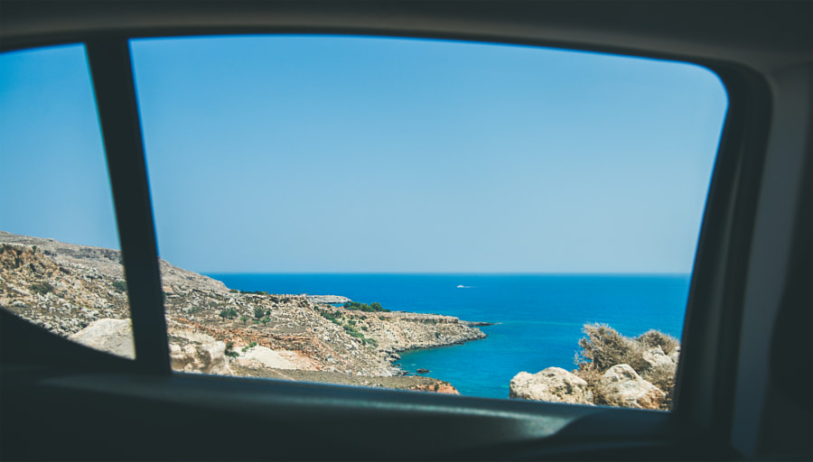 Backseat view over Mediterranean sea coast by Anna Ivanova on 500px.com