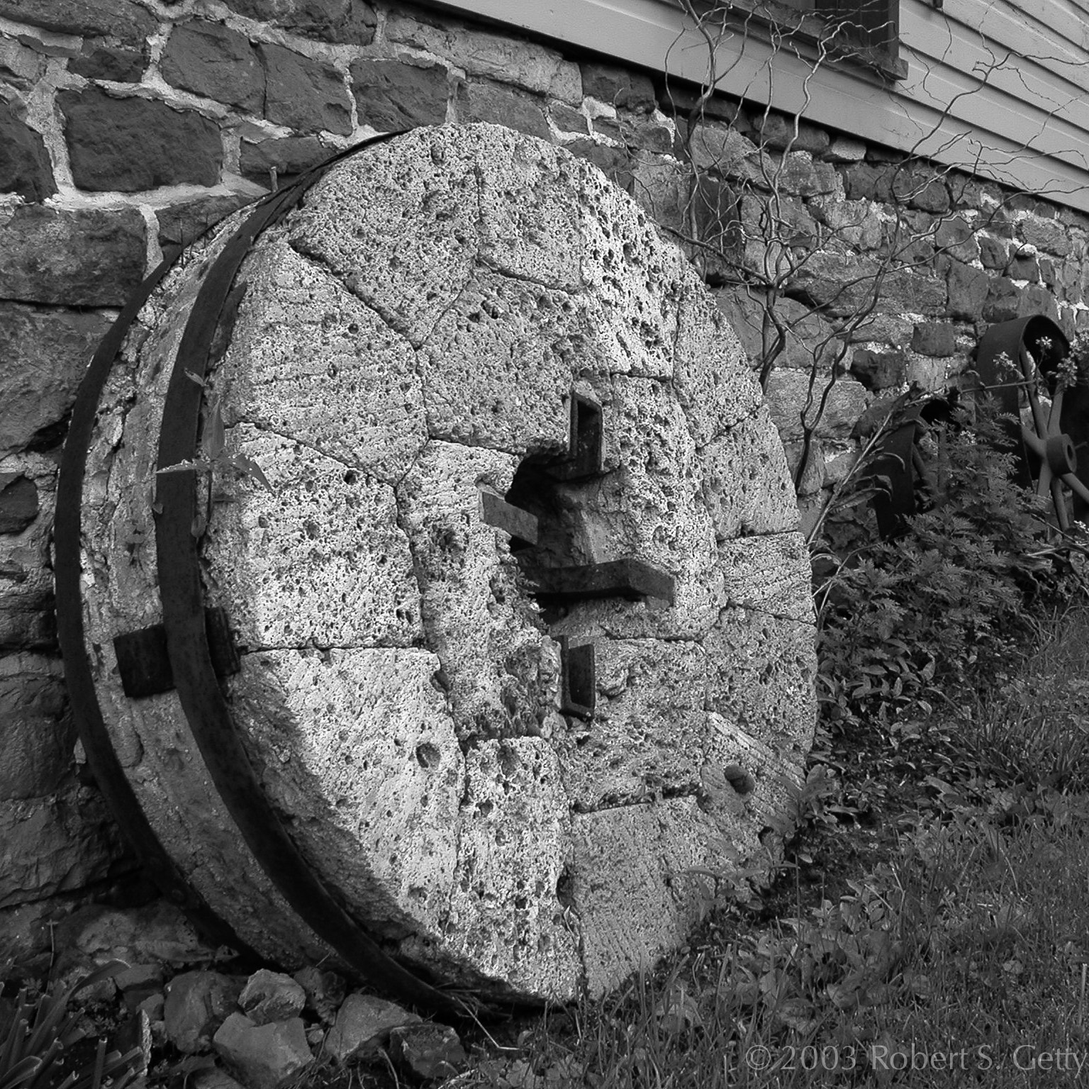 Photograph Old mill stone by Robert Getty on 500px