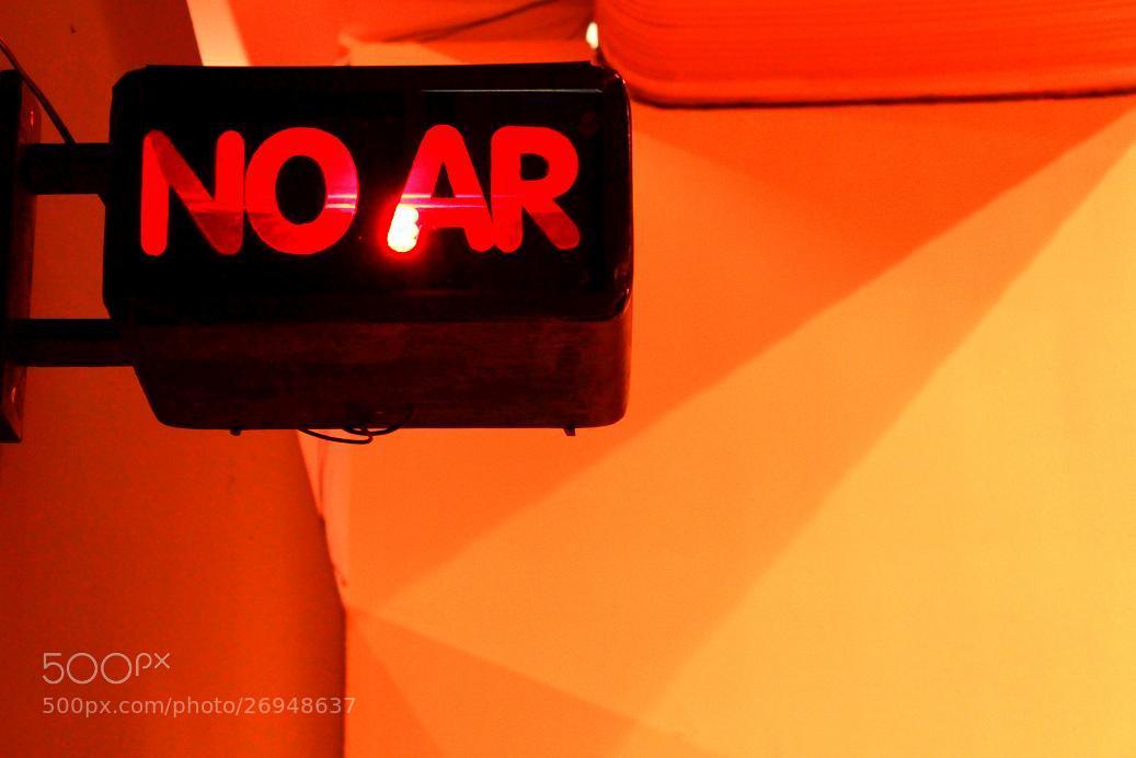 Photograph NO AR by Rodrigo Capulleto on 500px