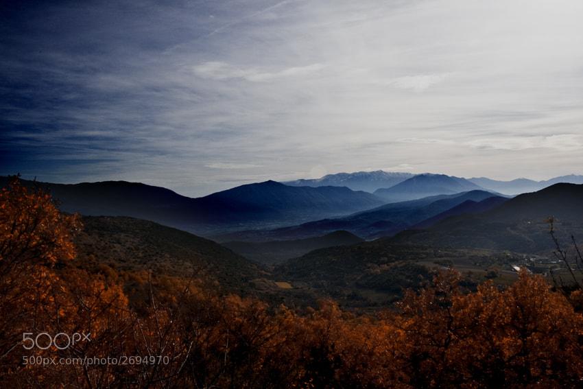 Photograph Autumn landscape by Massimo Renzi on 500px