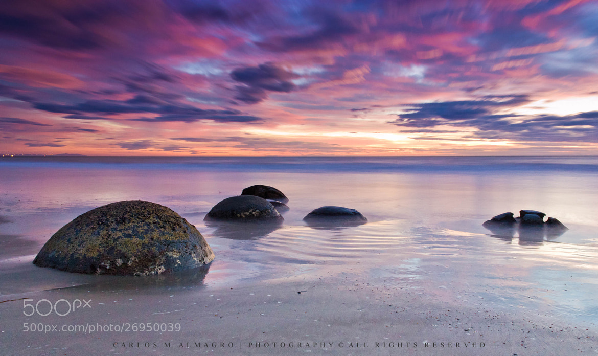 Photograph Moeraki tale by Carlos M. Almagro  on 500px