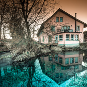 THE RED HOUSE by pino stranieri (pinostranieri)) on 500px.com