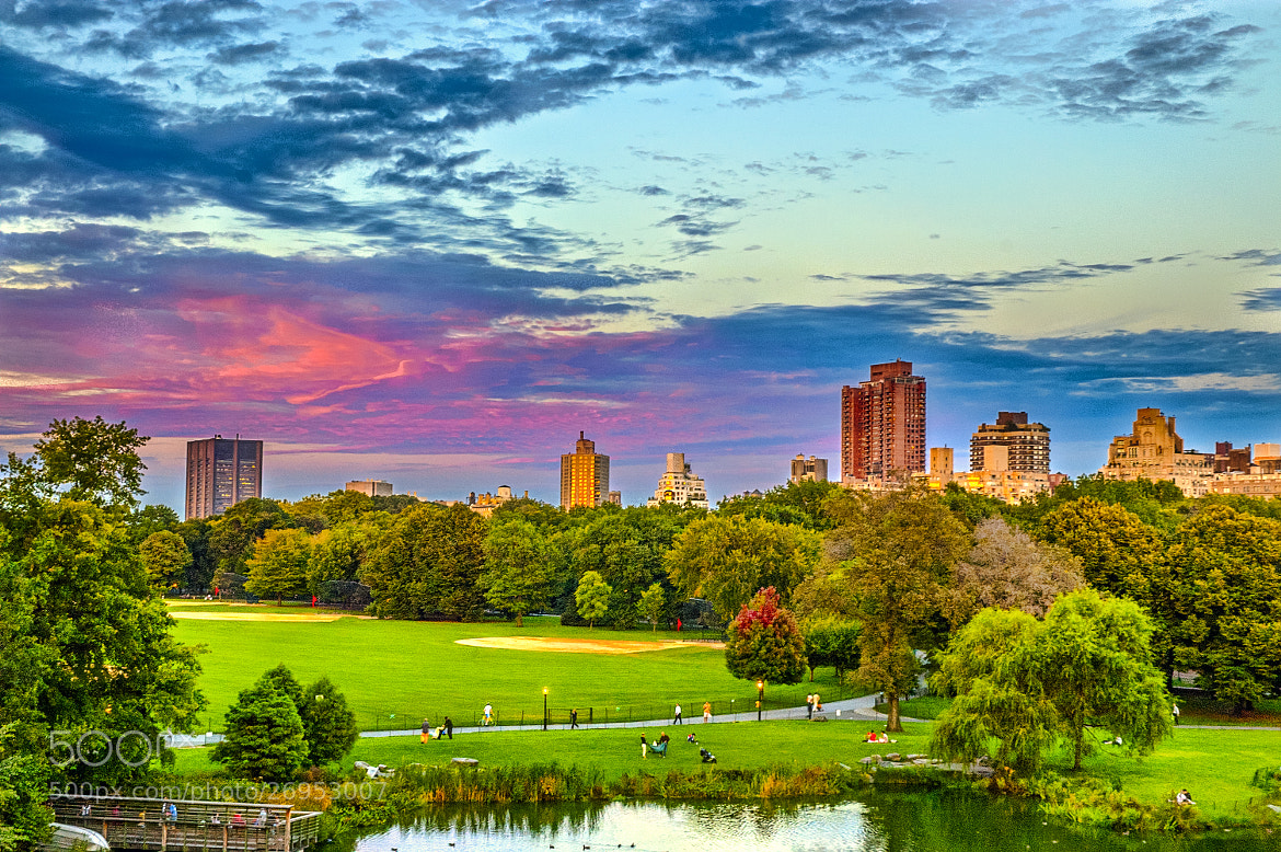 Photograph Dusk in Central Park 2 by Paco López on 500px