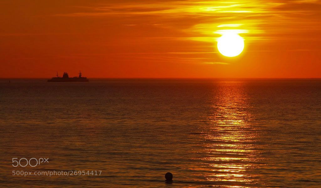 Photograph Baltic Sundown by Grit Ende on 500px