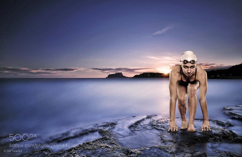 Photograph Rachele, swimmer. by Giò Tarantini on 500px