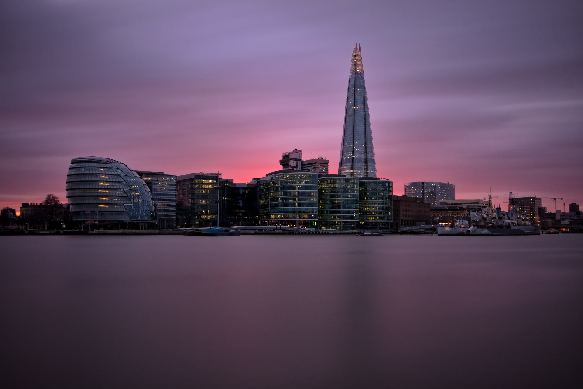 Photograph London at sunset by Karl Batchelor on 500px