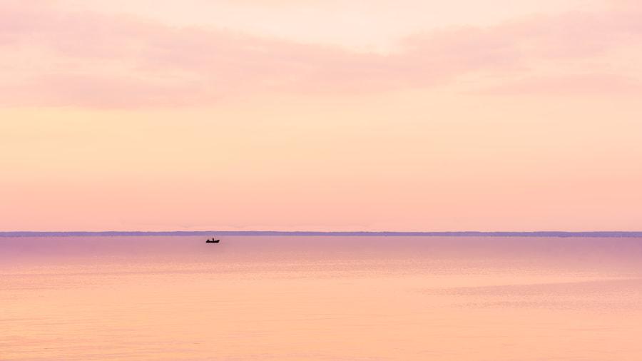 Minimalism at Kyiv Sea, автор — John Wright на 500px.com