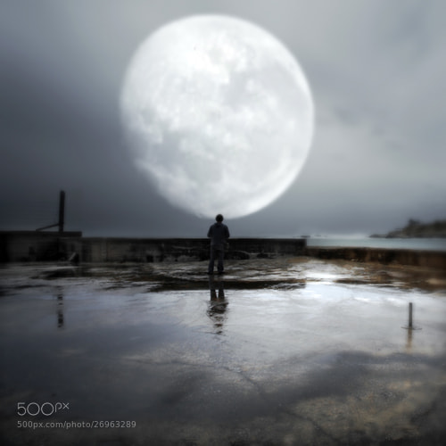 Photograph And I Am Your Moon by richard sammour on 500px