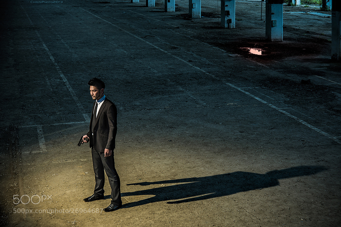 Photograph Man in Black 2 by Chris Lai on 500px
