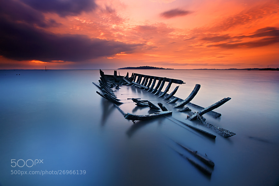 Photograph Ship Fossil by shikhei goh on 500px