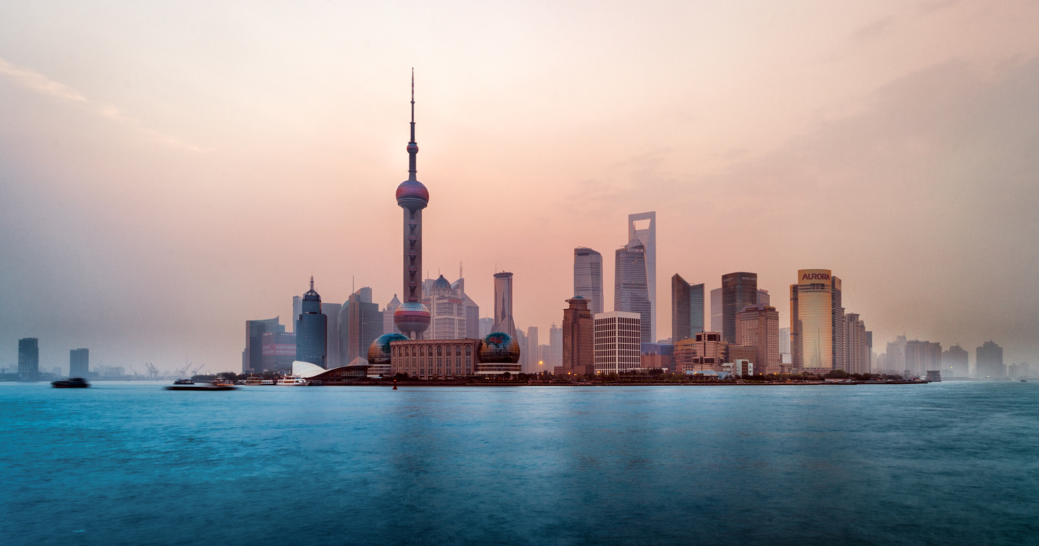 Photograph Shanghai at dawn by Simon Linge on 500px