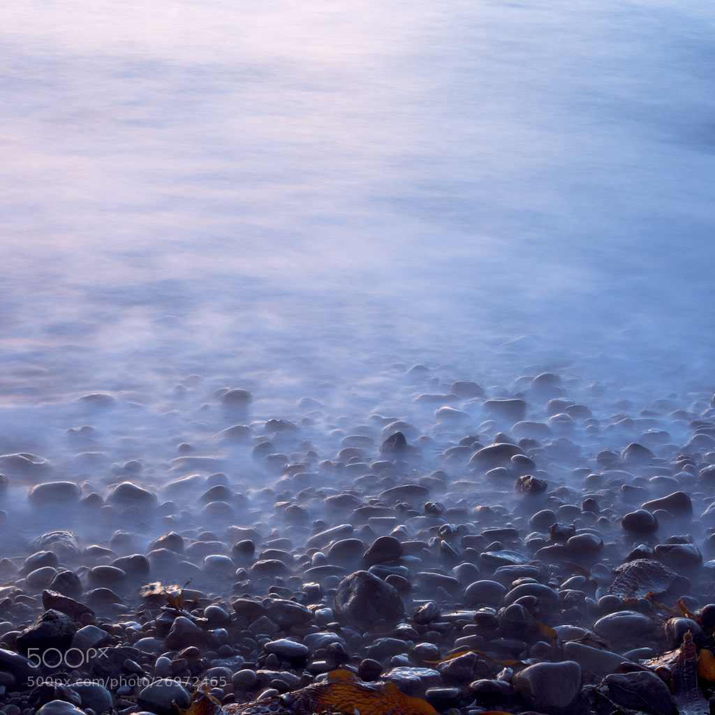 Photograph pebbles on the shore by dominique walterson on 500px