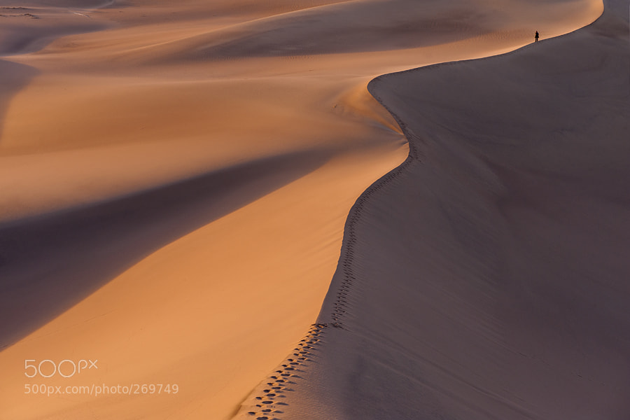 Photograph Desertwalk by Jure Kravanja on 500px