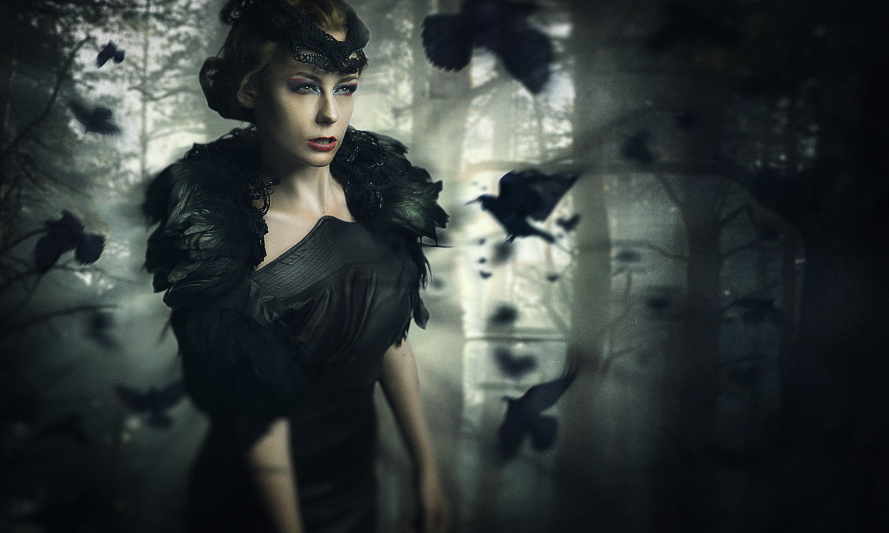 Photograph Queen of the Crows by Lauri Laukkanen on 500px