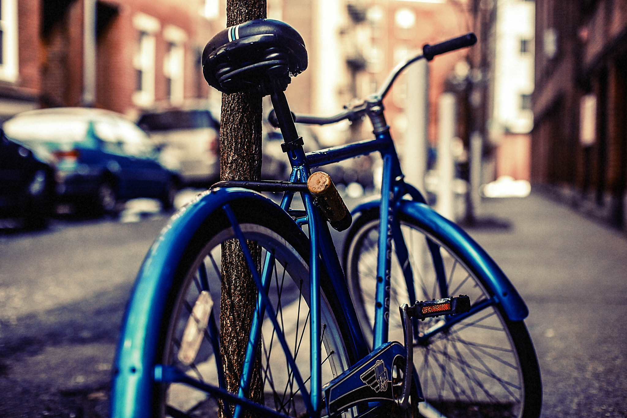 Photograph { Blue Bike } by Anh Gerrard  on 500px