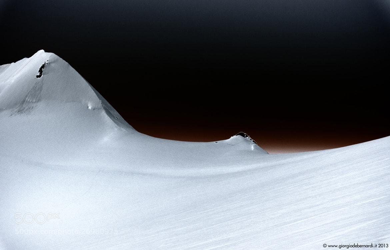 Photograph Lyskamm   Monte Rosa (4.634 m) by giorgio debernardi on 500px