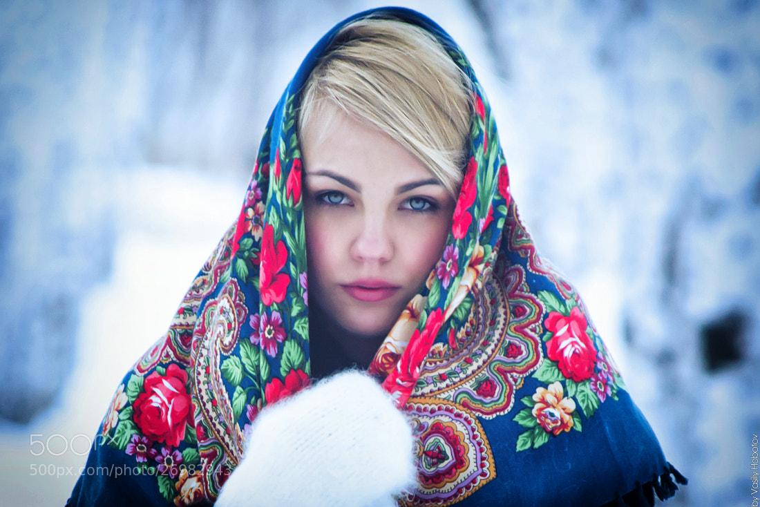 Photograph Siberian girl by Василий Хоботов on 500px