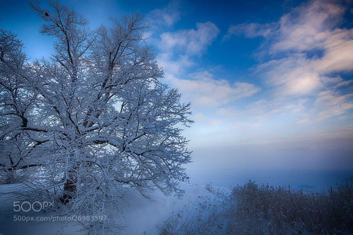 Photograph Winter blues by Jouko Ruuskanen on 500px