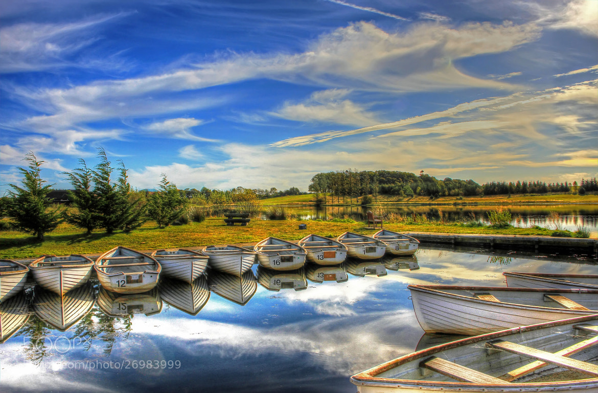 Photograph Boats At Piperdam by Hilda Murray on 500px