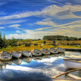 Boats At Piperdam by Hilda Murray (HildaMurray)) on 500px.com