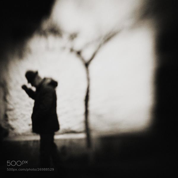 Photograph solitary man by esmahan özkan on 500px