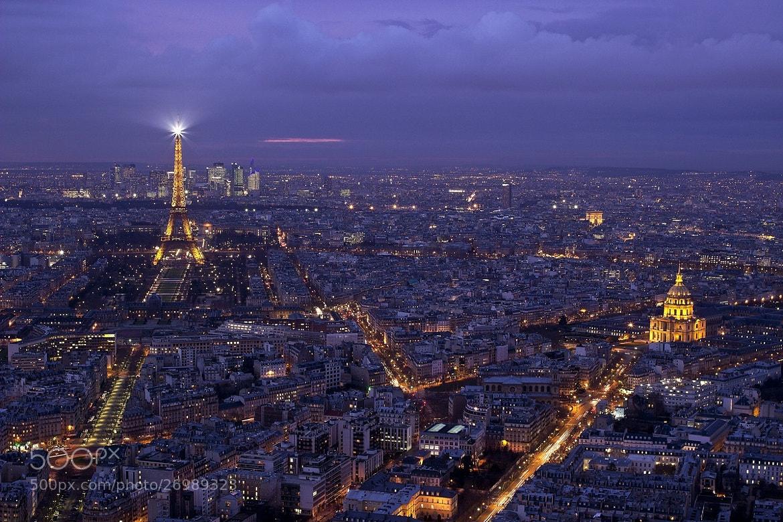 Photograph Purple Paris Project X - 13-02-11, 6:26 PM by Arnd Gottschalk on 500px