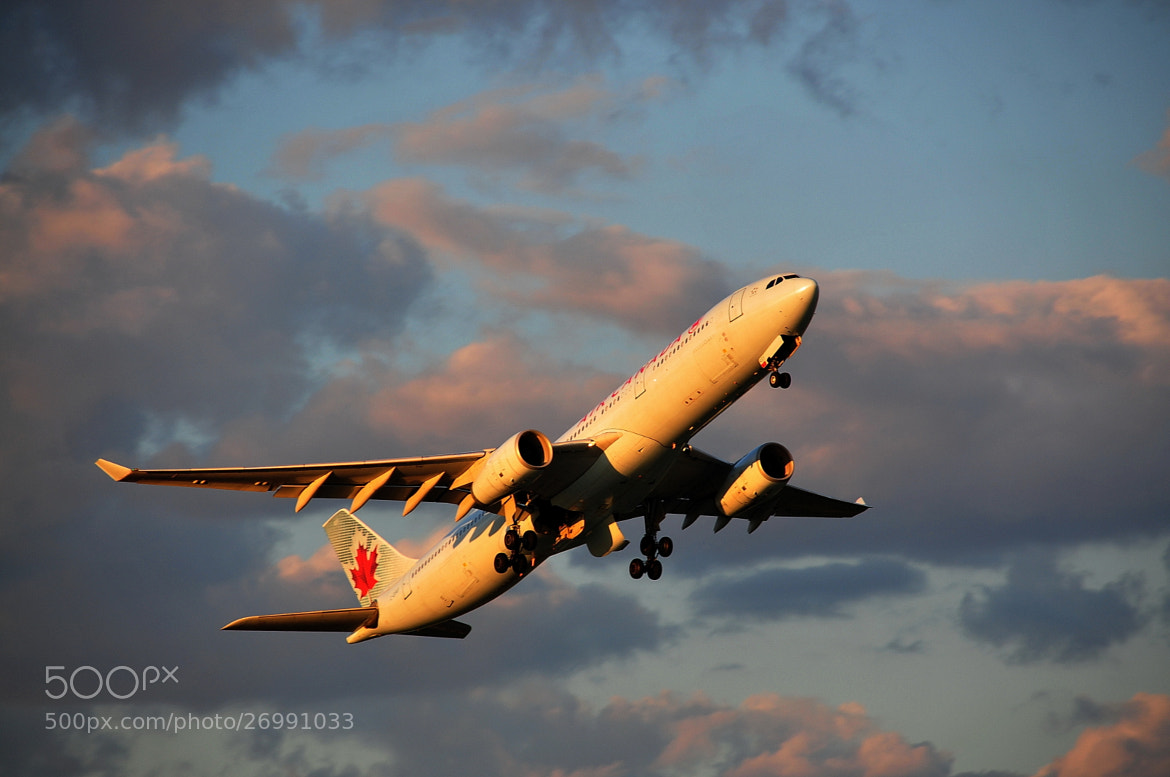 Photograph AirCanada by Jarek Stroka on 500px