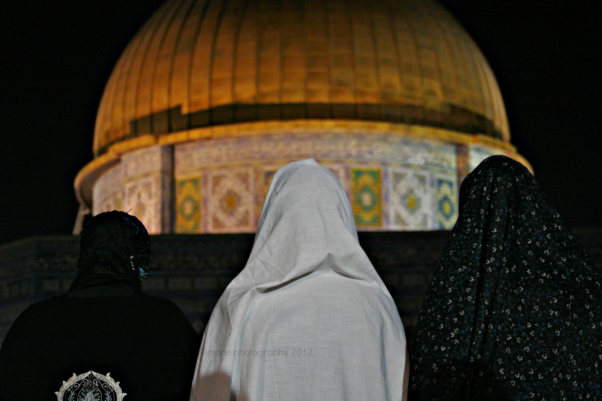Photograph Muslim prayers in Al-Aqsa Mosque by Amane Quds on 500px