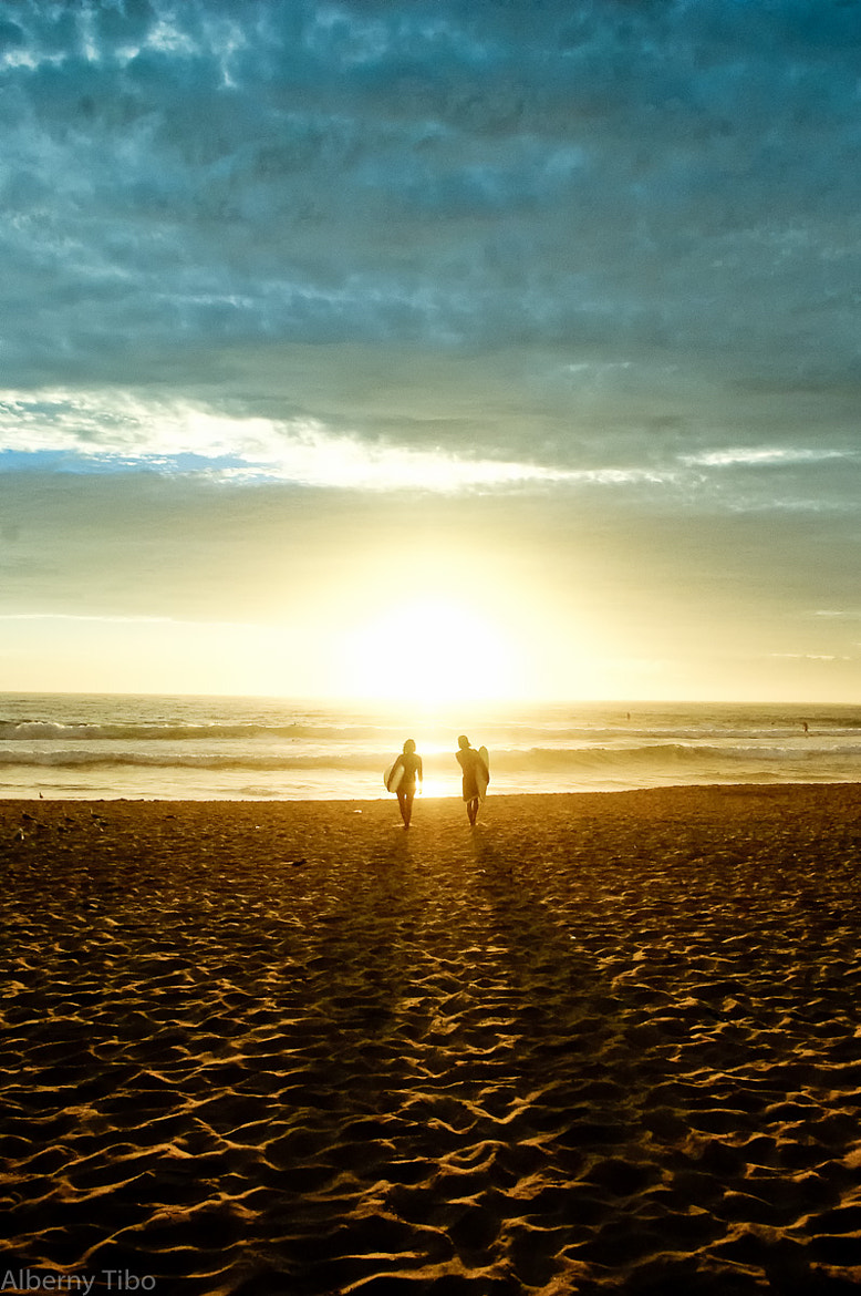 Photograph Morning surf by Tibo Alberny on 500px