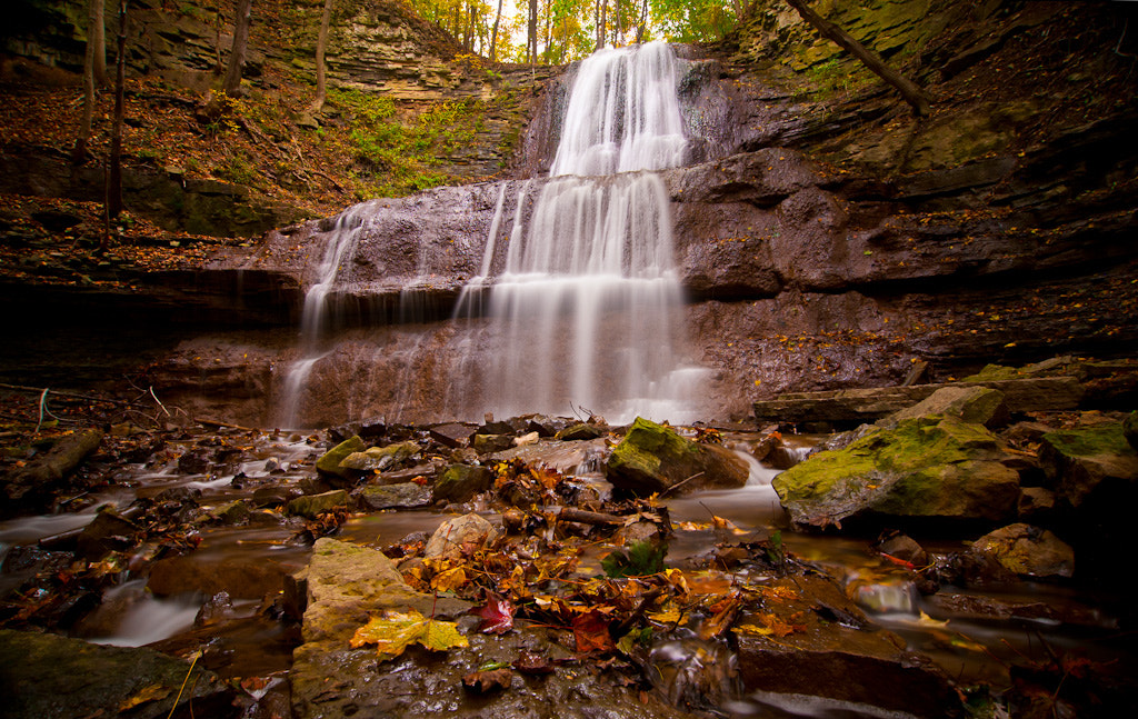 Photograph Sherman Falls - Hamilton, ON by Mike Last on 500px