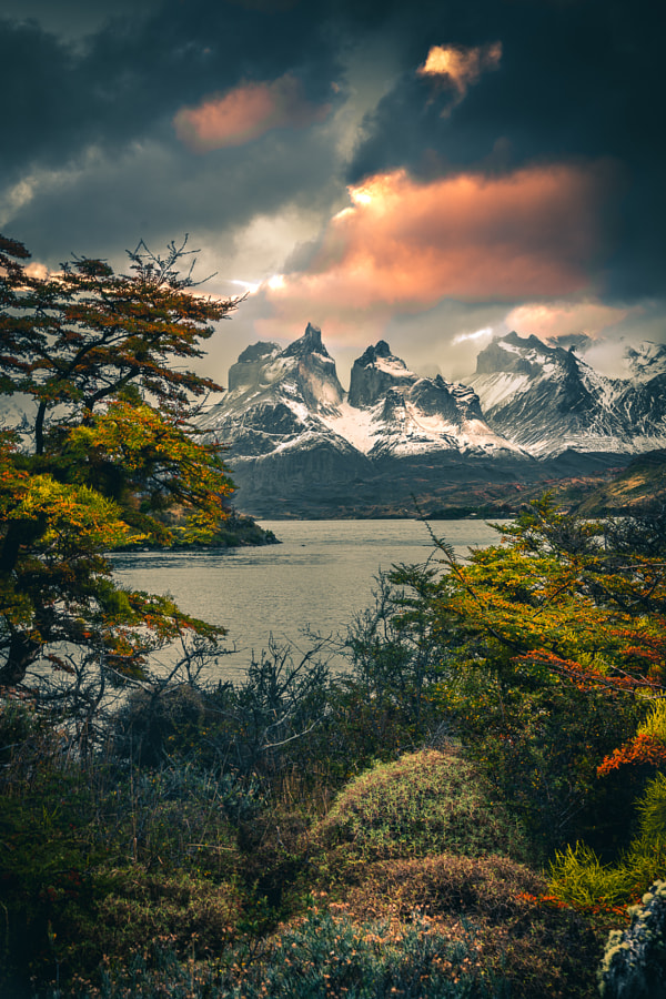 Autumn Sunset in Patagonia by Tobias Hägg on 500px.com