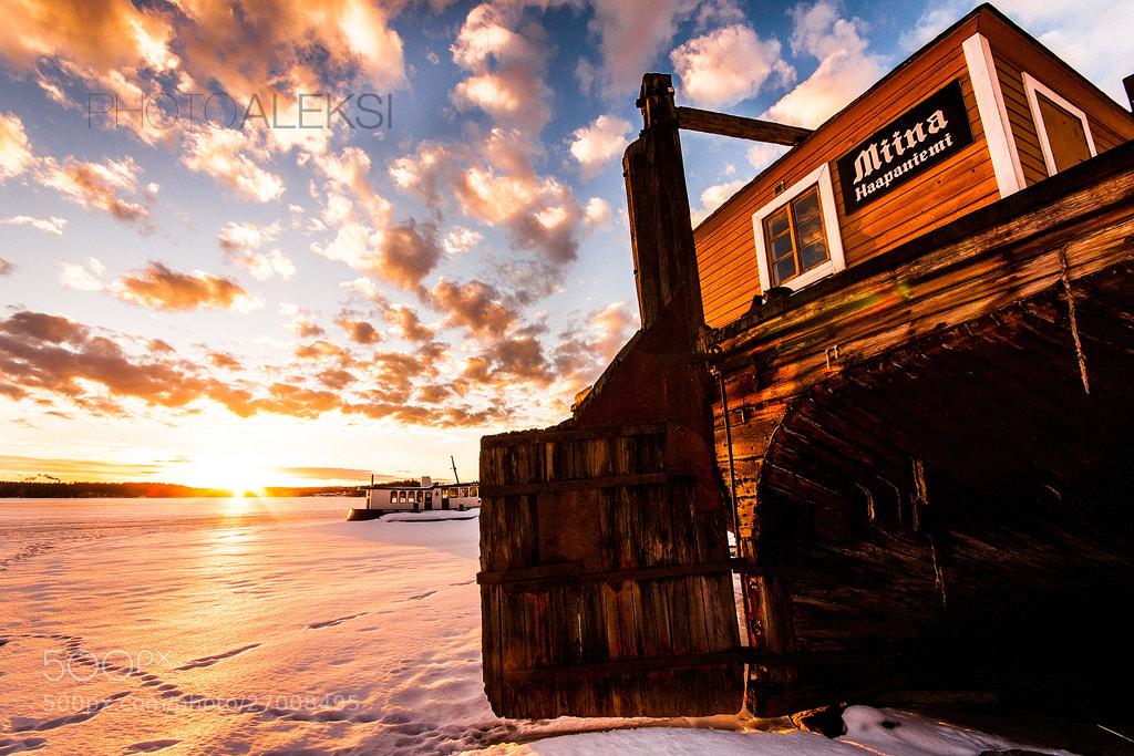 Photograph Haapaniemi sunset by Aleksi Hämäläinen on 500px