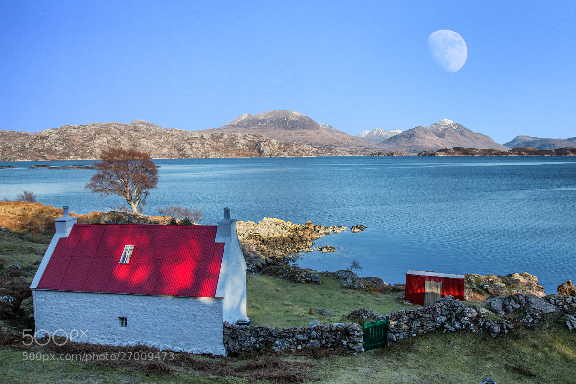 Photograph The House with the Red Roof by Mike Smith on 500px