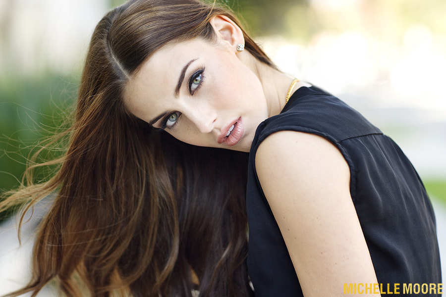 Photograph Jessica Lowndes by Michelle Moore on 500px