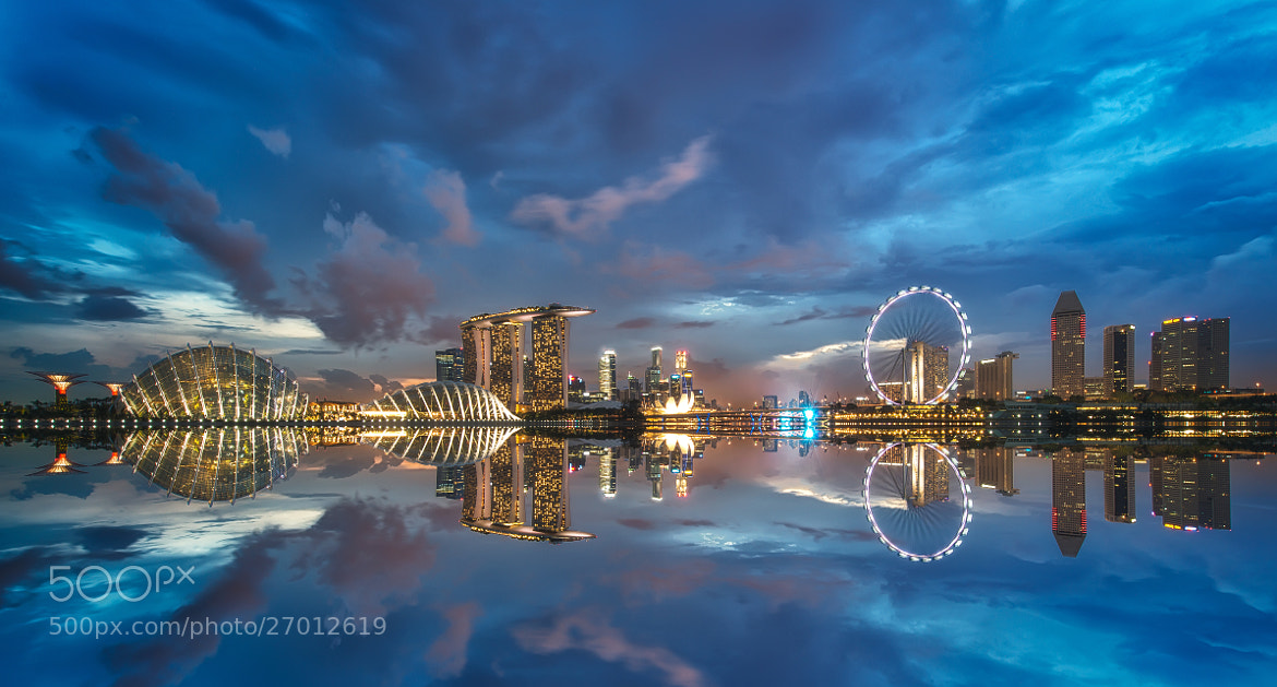 Photograph The Mirror City by Danny Xeero on 500px