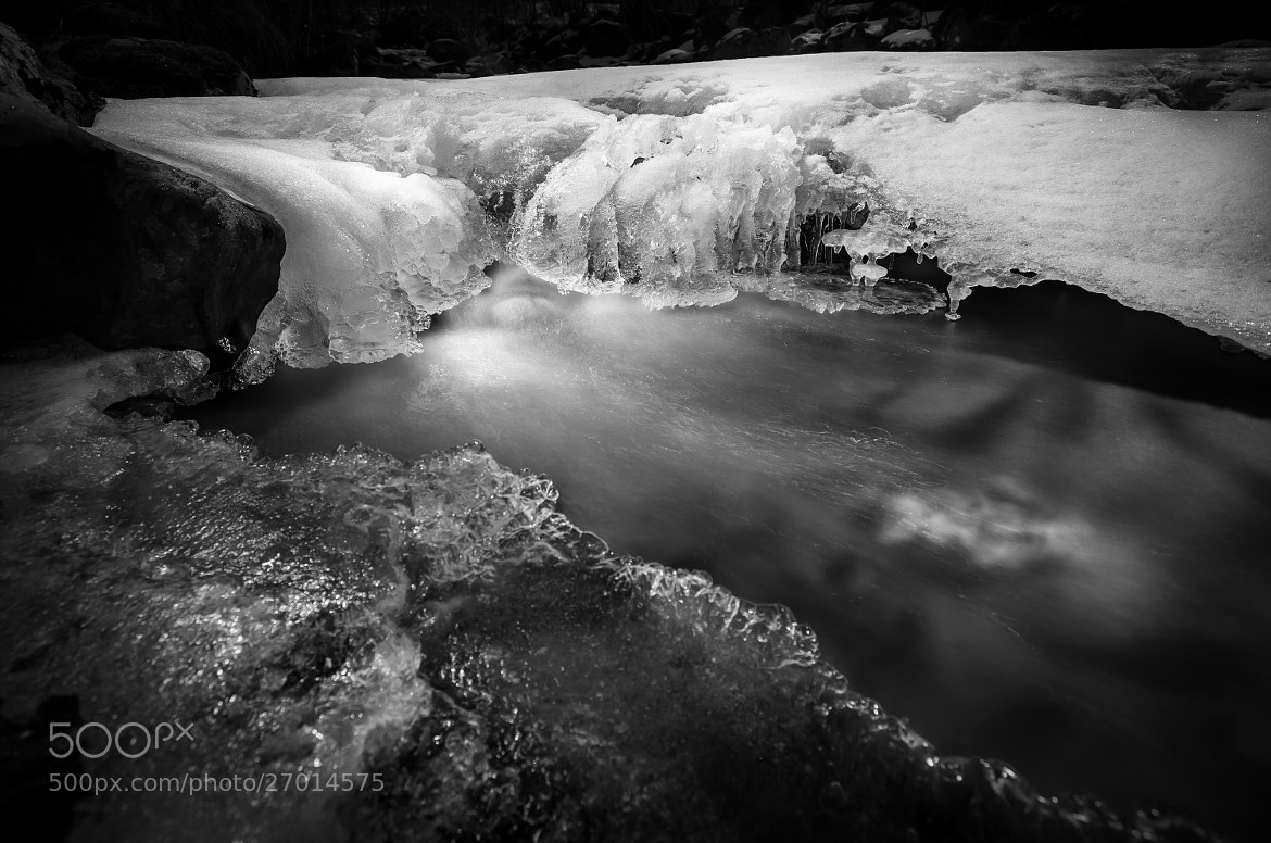 Photograph Ice water fall  by Bjarte Haugland on 500px