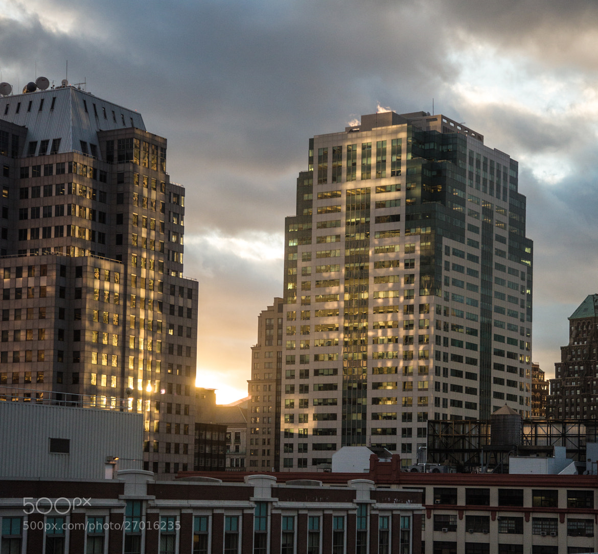 Photograph Sunset Reflections on Buildings by Scott Nelson on 500px