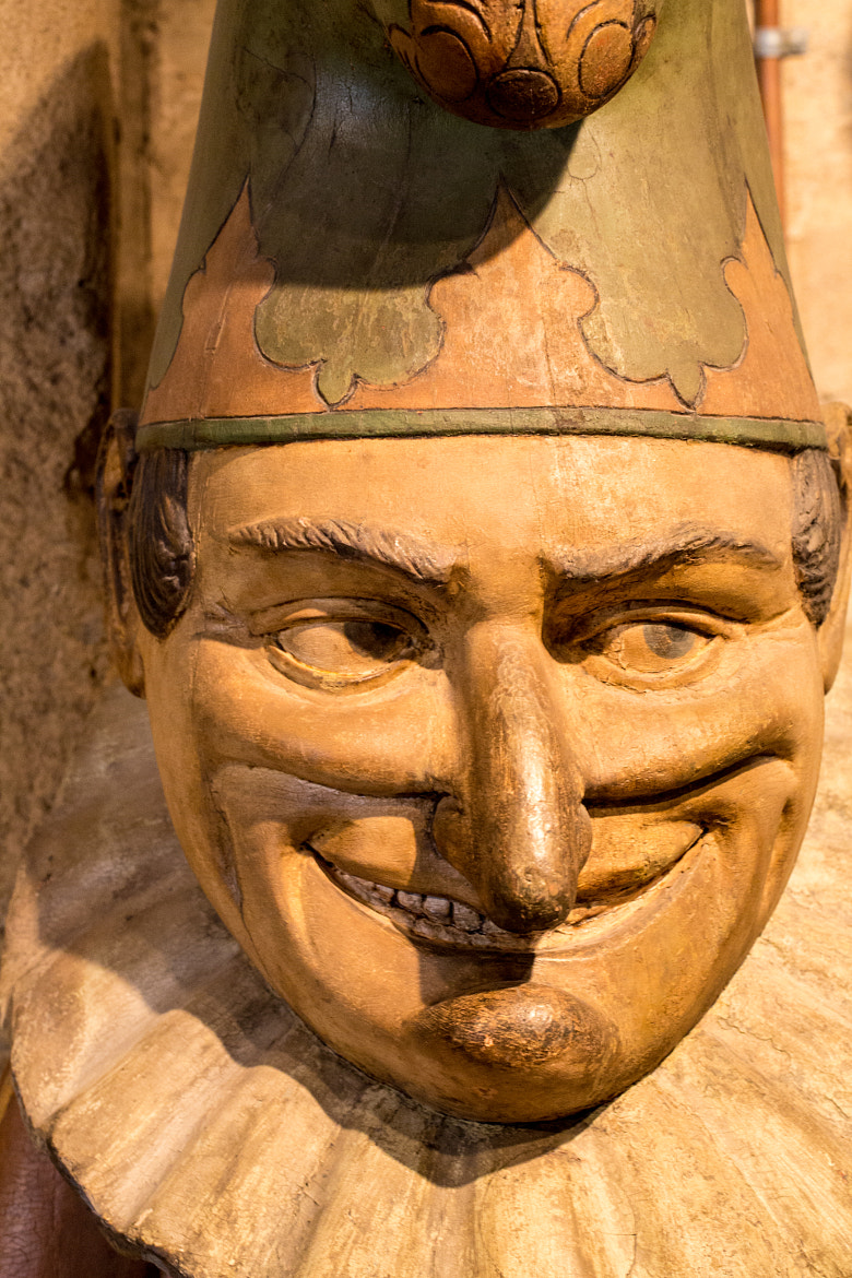 Photograph Jester Wood Carving Front Side by Scott Nelson on 500px
