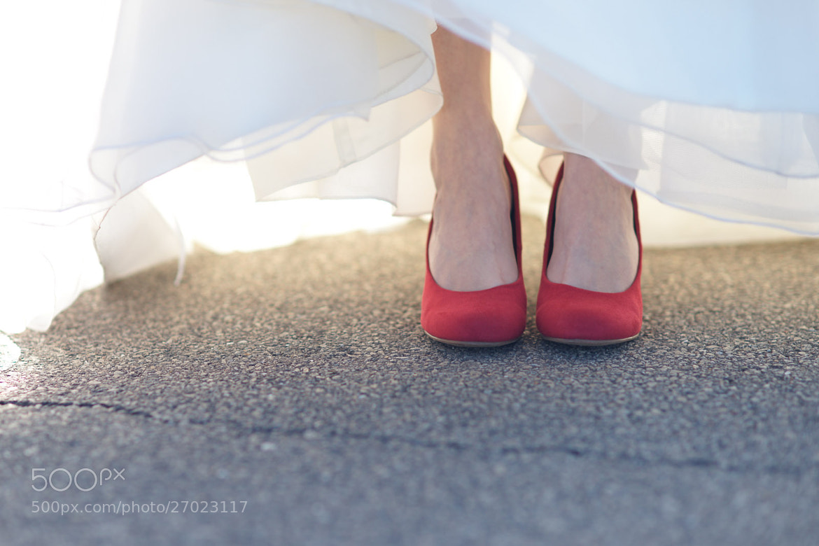 Photograph Red shoes by Tuan Dinh on 500px
