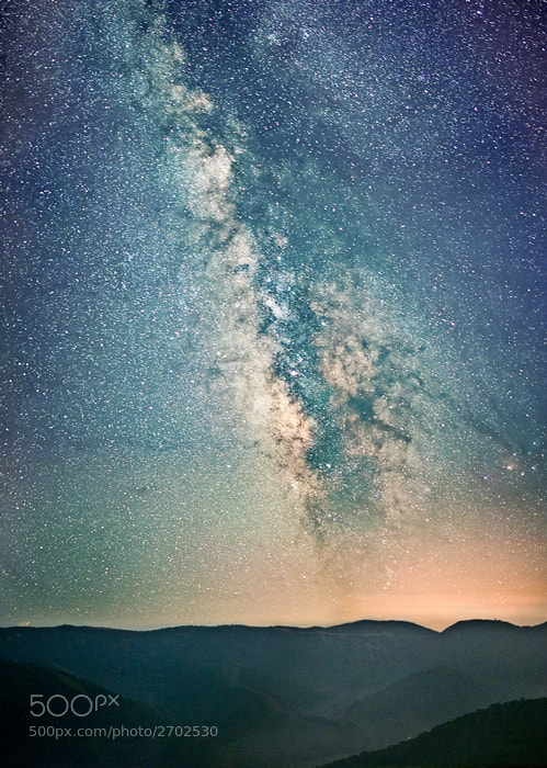 Photograph Milky way by Yifei Wang (王一非) on 500px