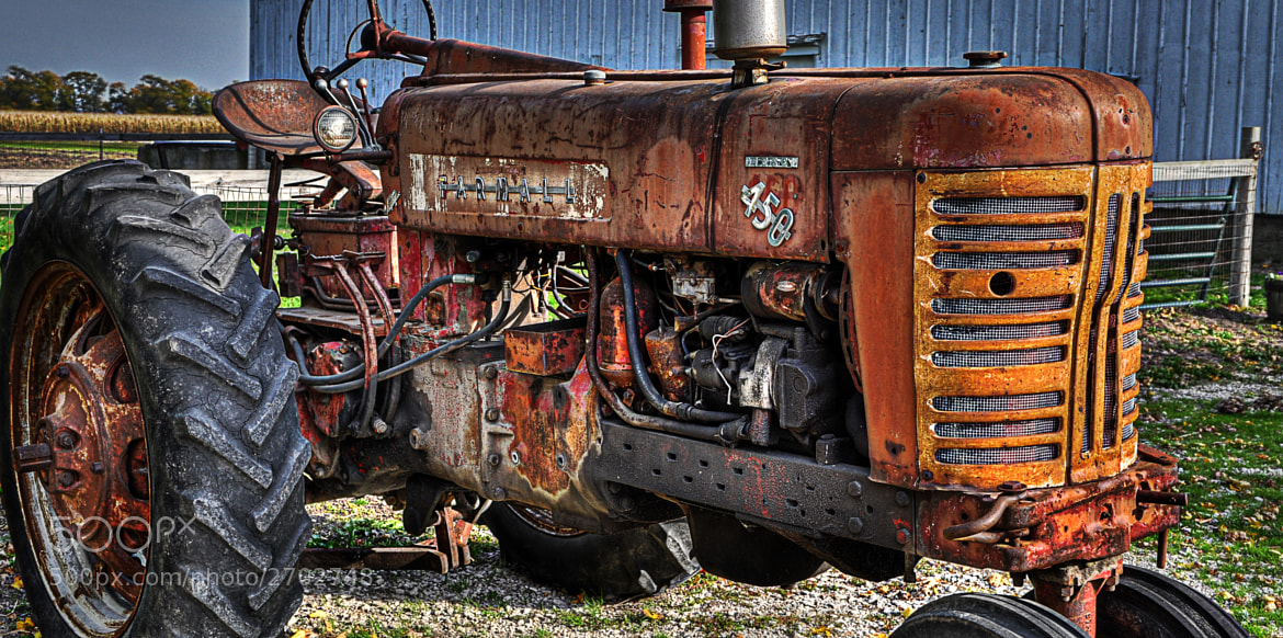 Photograph Old Tractor by Gail Wiley on 500px