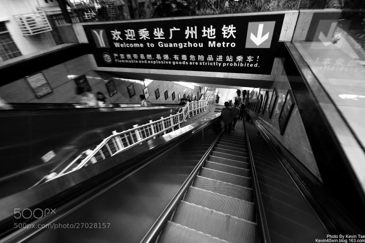 Photograph Wlcome to Guangzhou metro.. by Kevin Tse on 500px